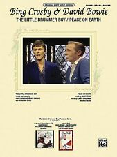 The Little Drummer Boy Peace on Earth Sheet Music Piano Vocal Bing Cro 000322380