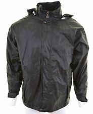 K.WAY Mens Rain Jacket Size 38 Medium Black Nylon  KE04