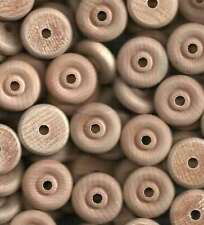 48~1-1/4 inch Wood Toy Wheels with Wooden Axle Pegs