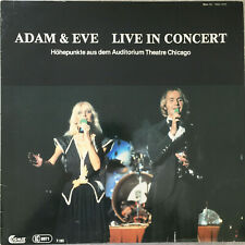 ADAM & EVE - Live in Concert (Cosmus NSV 1415 Stereo / NM)