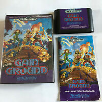 Gain Ground / CIB / Rare Sega Genesis & Mega Drive / Tested