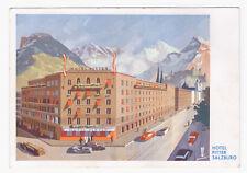 AK Salzburg --Hotel Pitter-- um 1930