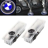 2x Cree LED Door Projector Courtesy Puddle Shadow Laser Light Lamp Logo For BMW