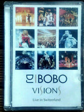 DVD  DJ Bobo-Visions-Live in Switzerland (import Suisse)-Schlanky, Schilling
