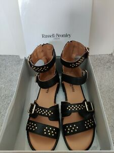 Russell and bromley studded Gladiator sandals Size 7 New in Box