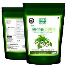 Moringa Leaf & Seeds Premium Powder 1 lb(16 Oz) Bag. (97:3) Ratio. Fast shipping
