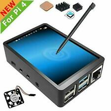 Raspberry Pi 4 Touch Screen with Case, 3.5 inch Touchscreen Fan