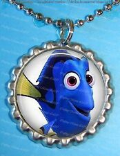 Finding Dory Silver Bottle Cap Necklace #2