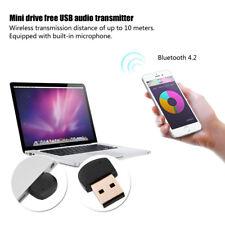 Portable Mini USB Bluetooth 4.2 Adapter Music Dongle Stereo Audio Transmitter BT
