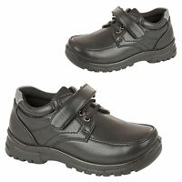 Boys Kids Back To School Shoes Infant Children Lace Up Formal Party Dress Boots