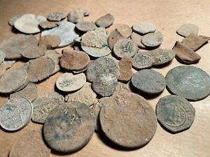 Lote De 52 Monedas Sin Limpiar
