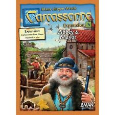 Carcassonne Abbey &amp Mayor 5th Expansion Game