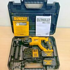 Dewalt DCH033M2 18v Brushless SDS Plus Rotary Hammer Drill Cordless +2 Batteries