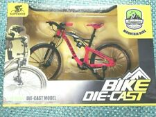 SUPERIOR Mountain Bike 1:10 Die-Cast Model, Red