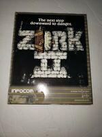 "Infocom Zork II IBM PC Game 5.25"" Floppy Disk vintage big box game"