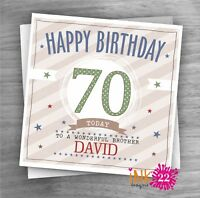 MARILYN MONROE PERSONALISED BIRTHDAY CARD DAD SON BROTHER 30th 40th 50th 60th