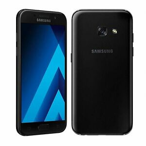 Mobile Samsung Galaxy A3 2017 SM-A320FL 16GB Single Sim Libre Noir Utilisé   C