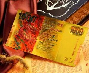 "★ HONGKONG  : BILLET POLYMER  "" OR "" DU 1000 DOLLARS HKG ★ B060"