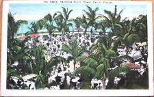 1920 Miami Beach, FL Postcard: Tea Dance, Nautillus Hotel - Florida