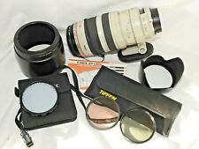 Canon EF 100-400mm f/1:4.5-5.6 L IS Ultrasonic Nature Lens Bundle 77mm Expodisc
