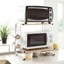 SoBuy® Wood Kitchen Microwave Oven Storage Rack Household Shelf  FRG092-N, UK