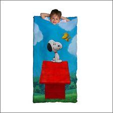 Peanuts Slumber Bag Sleeping Bags - In stock - Aust Seller - Snoopy Woodstock