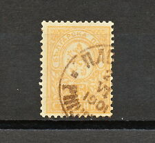 Bulgaria 021 USED 1896 Mich 33E PERF 12 3/4  Definitives coats of arms