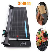 36 inch Precision Rotary Paper Trimmer Office Photo Paper Film Cutting Machine