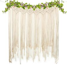 Large Macrame Tapestry Bohemian Wedding Home Indoor Outdoor Art Hanging Decor