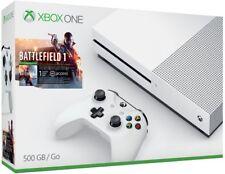 Microsoft Xbox One S Battlefield 1 Bundle 500GB White Console NEW