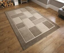 Visiona Aspect 4304 Natural  Beige 3D Effect Rug in various sizes and runner