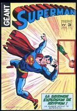 Superman Géant n°3 1979 Sagédition
