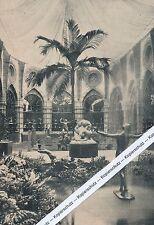 Berlin - Sportkunst-Ausstellung - Hauptsaal - um 1925