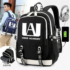 Anime My Hero Academia Schoolbag Backpack Travel Bag Christmas Present Unisex