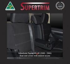 SEAT COVER Mitsubishi Pajero REAR+ARMREST 100% WATERPROOF PREMIUM NEOPRENE