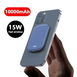 10000mAh Magnetic Power Bank For 15W Fast Wireless Charging For iphone12Pro 12Pr