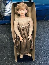 Künstlerpuppe RDC Porzellan Puppe 85 cm.