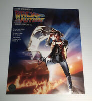 Michael J. Fox Signed Back to the Future 8x10 Photo with COA