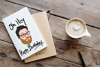 Seth Rogen Happy Birthday Card