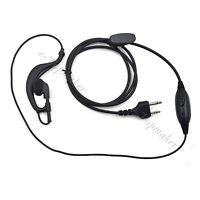 5pcs D-Ring Earloop Earpiece Headset Mic for Midland Two Way Radio Walkie Talkie