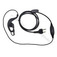2 Pin PTT Mic Earpiece Headset for Midland GXT2050VP4 GXT550 GXT1000 GXT1050VP4