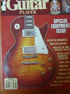 Guitar Player Magazine - Special Equipment issue, March 1985