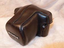 OLYMPUS cuero marrón oscuro caso siempre listo 1,4N para OM-1, OM-2, OM-3, OM-4.