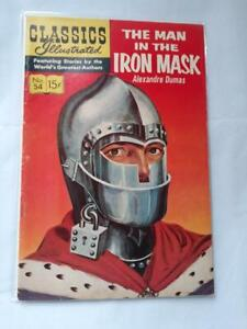 Classics Illustrated 54 FN The Man in the Iron Mask 1948 SKUD6896 25% Off!