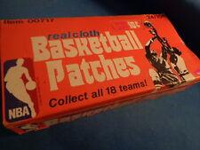 1974 FLEER BASKETBALL - NBA REAL CLOTH PATCHES BOX (24) PACKS ! RARE ! LQQK