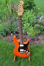 Fender BIG APPLE STRATOCASTER electric guitar USA W/Case Dual Hmbuckers!