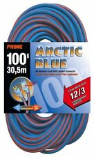 Prime LT530835 Extra Heavy Duty 100-Foot Artic Blue All-Weather TPE Extension Co