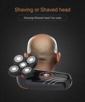 Electric 5 Head Floating Men Electric Shaver Beard Hair Bald Razor Waterproof NE