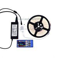 5M Double Row 5050 RGBW RGBWW LED Strip 600Leds Light 12V Kit &Controller &Power