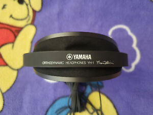 Vintage Yamaha orthodynamic headphones YH1 Mario Bellini Sound Great